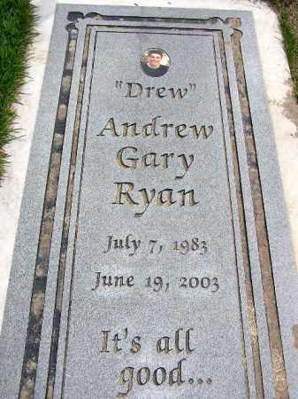 RYAN, ANDREW GARY - Wasatch County, Utah | ANDREW GARY RYAN - Utah Gravestone Photos