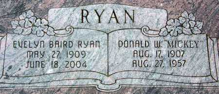 RYAN, DONALD WALTER - Wasatch County, Utah | DONALD WALTER RYAN - Utah Gravestone Photos