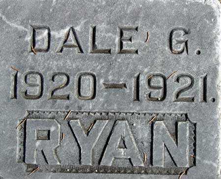 RYAN, DALE G. - Wasatch County, Utah | DALE G. RYAN - Utah Gravestone Photos