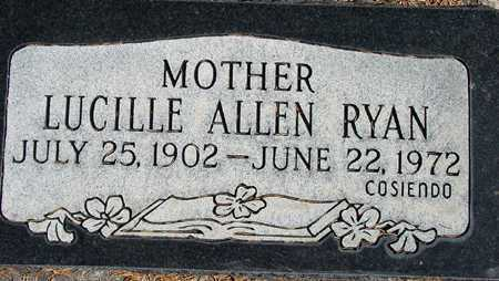 RYAN, LUCILLE - Wasatch County, Utah | LUCILLE RYAN - Utah Gravestone Photos