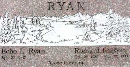 RYAN, RICHARD KENNETH - Wasatch County, Utah | RICHARD KENNETH RYAN - Utah Gravestone Photos