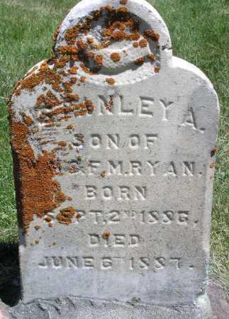 RYAN, STANLEY ACKERMAN - Wasatch County, Utah | STANLEY ACKERMAN RYAN - Utah Gravestone Photos