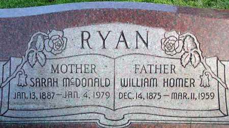 MCDONALD RYAN, SARAH - Wasatch County, Utah | SARAH MCDONALD RYAN - Utah Gravestone Photos