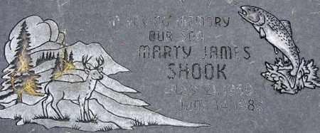 SHOOK, MARTY JAMES - Wasatch County, Utah | MARTY JAMES SHOOK - Utah Gravestone Photos