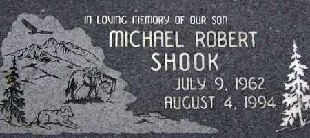 SHOOK, MICHAEL ROBERT - Wasatch County, Utah | MICHAEL ROBERT SHOOK - Utah Gravestone Photos