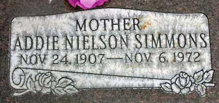 SIMMONS, ADDIE - Wasatch County, Utah | ADDIE SIMMONS - Utah Gravestone Photos