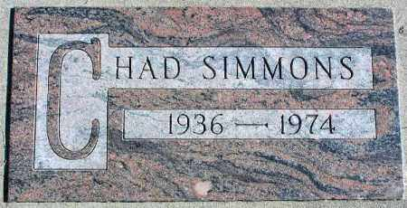 SIMMONS, CHAD N. - Wasatch County, Utah | CHAD N. SIMMONS - Utah Gravestone Photos