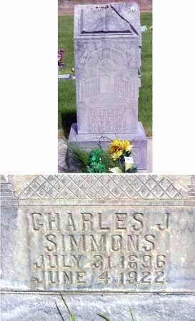 SIMMONS, CHARLES JULLIEN - Wasatch County, Utah   CHARLES JULLIEN SIMMONS - Utah Gravestone Photos