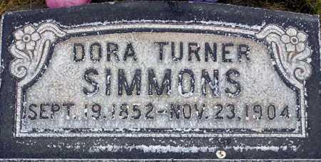 SIMMONS, DORA - Wasatch County, Utah | DORA SIMMONS - Utah Gravestone Photos