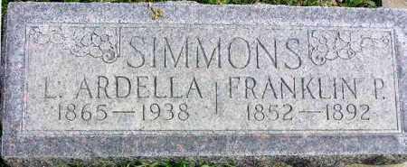 SIMMONS, FRANKLIN PIERCE - Wasatch County, Utah | FRANKLIN PIERCE SIMMONS - Utah Gravestone Photos