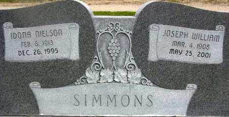 SIMMONS, IDONA - Wasatch County, Utah | IDONA SIMMONS - Utah Gravestone Photos