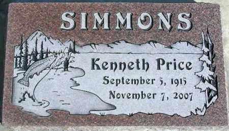 SIMMONS, KENNETH PRICE - Wasatch County, Utah   KENNETH PRICE SIMMONS - Utah Gravestone Photos