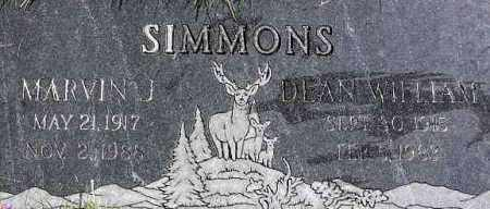 SIMMONS, DEAN WILLIAM - Wasatch County, Utah | DEAN WILLIAM SIMMONS - Utah Gravestone Photos