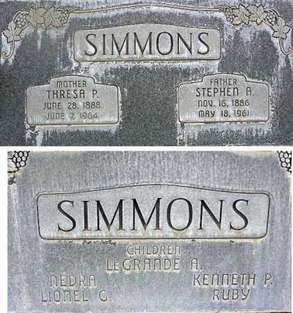 SIMMONS, THRESA ELIZABETH - Wasatch County, Utah | THRESA ELIZABETH SIMMONS - Utah Gravestone Photos