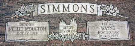 SIMMONS, NELLIE - Wasatch County, Utah | NELLIE SIMMONS - Utah Gravestone Photos