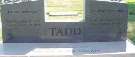 ANDERSON TADD, LAVON - Wasatch County, Utah   LAVON ANDERSON TADD - Utah Gravestone Photos