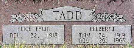 WORKMAN TADD, ALICE FAWN - Wasatch County, Utah | ALICE FAWN WORKMAN TADD - Utah Gravestone Photos
