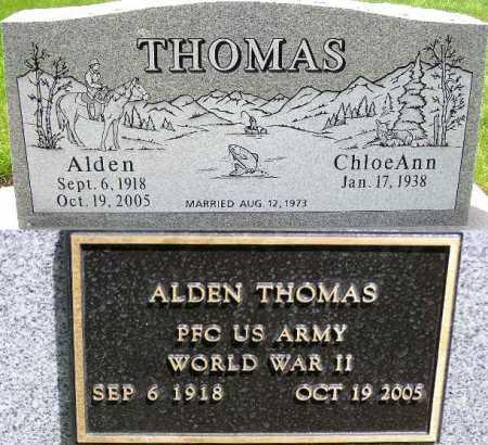 THOMAS, ALDEN - Wasatch County, Utah | ALDEN THOMAS - Utah Gravestone Photos