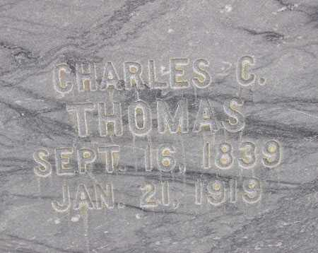 THOMAS, CHARLES CARTER - Wasatch County, Utah | CHARLES CARTER THOMAS - Utah Gravestone Photos