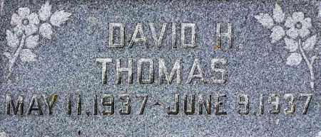 THOMAS, DAVID H - Wasatch County, Utah | DAVID H THOMAS - Utah Gravestone Photos