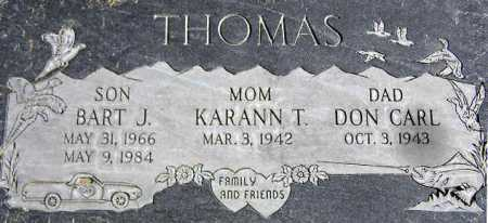 THOMAS, KARANN JUNE - Wasatch County, Utah | KARANN JUNE THOMAS - Utah Gravestone Photos