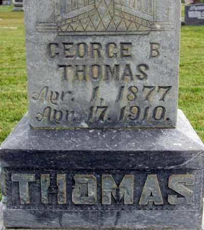 THOMAS, GEORGE BRADFORD - Wasatch County, Utah | GEORGE BRADFORD THOMAS - Utah Gravestone Photos