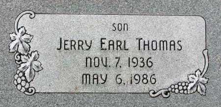 THOMAS, JERRY EARL - Wasatch County, Utah | JERRY EARL THOMAS - Utah Gravestone Photos