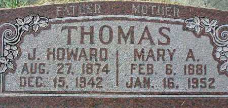 JONES THOMAS, MARY AGNES - Wasatch County, Utah | MARY AGNES JONES THOMAS - Utah Gravestone Photos
