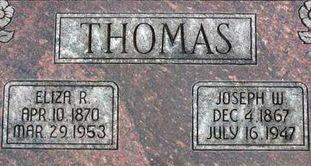 THOMAS, JOSEPH WILLIAM - Wasatch County, Utah | JOSEPH WILLIAM THOMAS - Utah Gravestone Photos