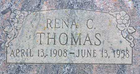 THOMAS, RENA - Wasatch County, Utah | RENA THOMAS - Utah Gravestone Photos