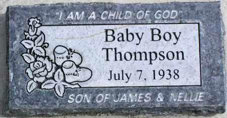 THOMPSON, BABY BOY - Wasatch County, Utah | BABY BOY THOMPSON - Utah Gravestone Photos