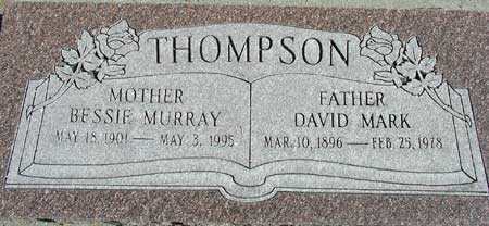 THOMPSON, BESSIE MURRAY - Wasatch County, Utah | BESSIE MURRAY THOMPSON - Utah Gravestone Photos