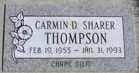 THOMPSON, CARMIN DEE - Wasatch County, Utah | CARMIN DEE THOMPSON - Utah Gravestone Photos