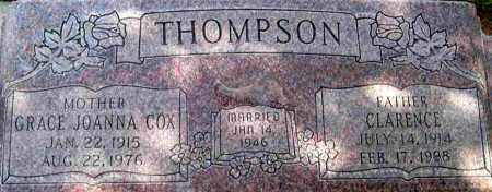 THOMPSON, CLARENCE - Wasatch County, Utah | CLARENCE THOMPSON - Utah Gravestone Photos