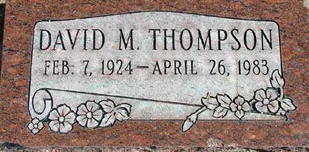 THOMPSON, DAVID MURRAY - Wasatch County, Utah | DAVID MURRAY THOMPSON - Utah Gravestone Photos