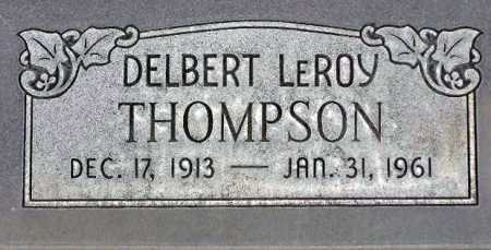 THOMPSON, DELBERT LEROY - Wasatch County, Utah   DELBERT LEROY THOMPSON - Utah Gravestone Photos