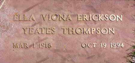 THOMPSON, ELLA VIONA - Wasatch County, Utah | ELLA VIONA THOMPSON - Utah Gravestone Photos