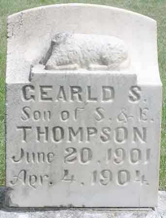 THOMPSON, GEARLD SAMUEL - Wasatch County, Utah | GEARLD SAMUEL THOMPSON - Utah Gravestone Photos
