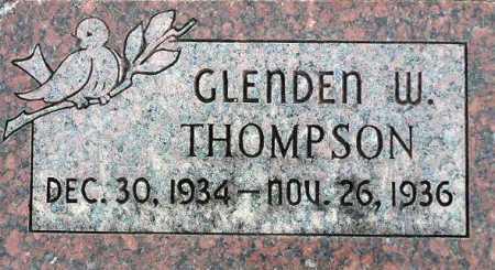 THOMPSON, GLENDEN WILLIAM - Wasatch County, Utah | GLENDEN WILLIAM THOMPSON - Utah Gravestone Photos