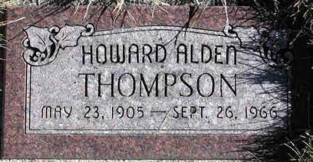 THOMPSON, HOWARD ALDEN - Wasatch County, Utah | HOWARD ALDEN THOMPSON - Utah Gravestone Photos