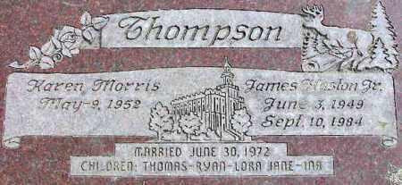 THOMPSON, JAMES HASTON - Wasatch County, Utah | JAMES HASTON THOMPSON - Utah Gravestone Photos