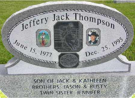 THOMPSON, JEFFERY JACK - Wasatch County, Utah | JEFFERY JACK THOMPSON - Utah Gravestone Photos