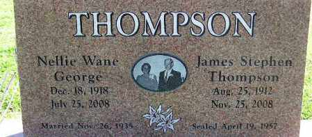 THOMPSON, JAMES STEPHEN - Wasatch County, Utah | JAMES STEPHEN THOMPSON - Utah Gravestone Photos