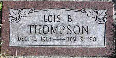 THOMPSON, LOIS - Wasatch County, Utah | LOIS THOMPSON - Utah Gravestone Photos
