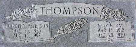 THOMPSON, MELVIN RAY - Wasatch County, Utah | MELVIN RAY THOMPSON - Utah Gravestone Photos