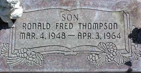 THOMPSON, RONALD FRED - Wasatch County, Utah   RONALD FRED THOMPSON - Utah Gravestone Photos