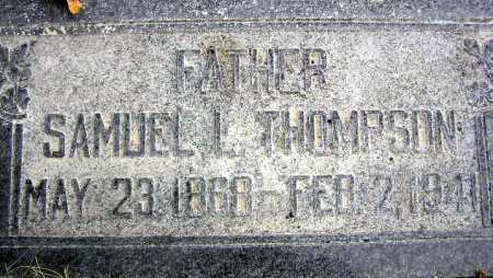 THOMPSON, SAMUEL LORENZO - Wasatch County, Utah | SAMUEL LORENZO THOMPSON - Utah Gravestone Photos