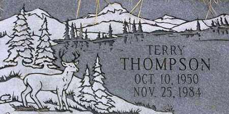 THOMPSON, TERRY LEE - Wasatch County, Utah | TERRY LEE THOMPSON - Utah Gravestone Photos