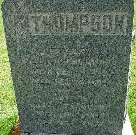 THOMPSON, SARAH - Wasatch County, Utah   SARAH THOMPSON - Utah Gravestone Photos