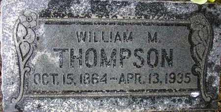 THOMPSON, WILLIAM MORONI - Wasatch County, Utah | WILLIAM MORONI THOMPSON - Utah Gravestone Photos